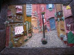 arte famosos cuadros plastilina - Buscar con Google