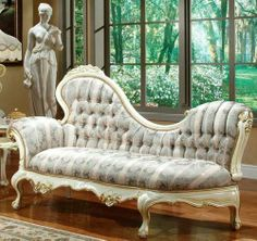 Victorian Lounger-I would love this for our master bedroom to go with my victorian bed