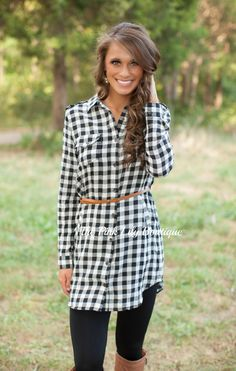 The Pink Lily Boutique - Walk You Home Plaid Belted Dress, $36.00 (http://thepinklilyboutique.com/walk-you-home-plaid-belted-dress/)