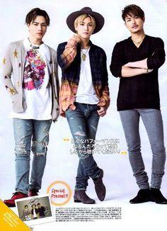 Imaichi Ryuji & Tosaka Hiroomi & Iwata Takanori 3代目j Soul Brothers, Japanese Men, Big Love, Japanese Artists, Bomber Jacket, Singer, Actors, Kawaii, Hair