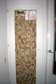 Another idea to think about doing with all those wine corks I've been collecting!