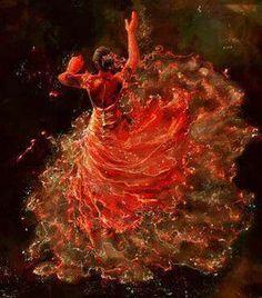 Buenas noches................http://www.pinterest.com/dianagarmans/flamenco/