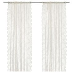 @sookielolly for your front porch?    ALVINE SPETS Lace curtains, 1 pair - IKEA srw