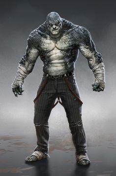 Killer Croc: Arkham Origins.