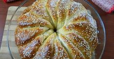 Cooking Time, Cooking Recipes, Bread Cake, Greek Recipes, Sweet Bread, Apple Pie, Biscotti, Food Processor Recipes, Recipies