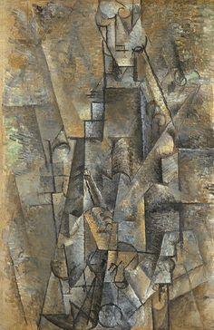 """Pablo Picasso - """"Man with a Clarinet"""", 1911"""