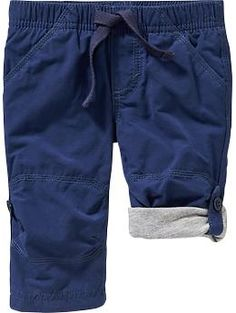 Jersey-Lined Convertible Pants for Baby    Will have to wait & see what size he's in this winter (2015/16).