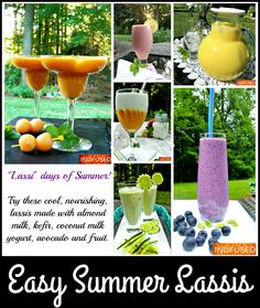 Healthy, refreshing, no cook summer smoothies! Indian Beef Recipes, Goan Recipes, Best Vitamix, Vitamix Recipes, Easy Drink Recipes, Summer Recipes, Healthy Drinks, Healthy Food, Summer Drinks