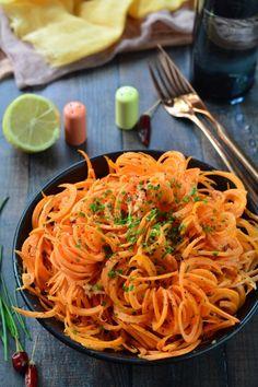Citromos-olívás répasaláta recept - Kifőztük, online gasztromagazin Russel Hobbs, Japchae, Spaghetti, Paleo, Ethnic Recipes, Drink, Food, Beverage, Eten