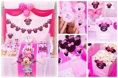 Decoración cumpleaños de Minnie Mouse!   Hazlo Especial