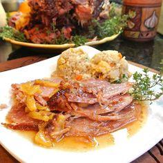 Crockpot Hawaiian Ham.