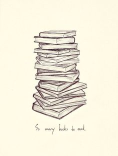 So many books to read...