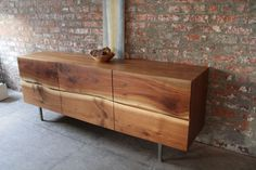 Yasu Credenza, by Andre Joyau -created from collected + recycled timber