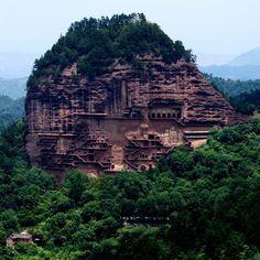 Fancy   Maijishan Caves @ Tianshui, China