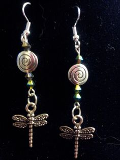 Dragonflies with spirals!!