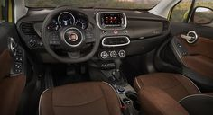 The stylishly capable FIAT® 500X Pop comes standard with performance features like a 1.4L MultiAir® turbocharged engine and cruise control, and innovative interior tech features such as the Uconnect® 3.0 AM/FM radio with USB auxiliary media hub and four speakers. A spacious interior, a 60/40 folding rear seat, power windows and height-adjustable front seats. #FIAT #500X #FieldsFIAT