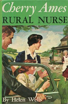 Cherry Ames, Rural Nurse. Written in 1961 by Helen Wells. Cherry Ames, an iconic figure in nursing, was the original pop-culture character that portrayed the successful career of a woman who specializes in various fields in nursing. In this book, she explores a public health subspecialty in a rural setting.