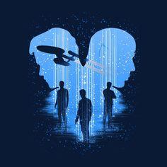 Bodly Go Star Trek Men's T-Shirt