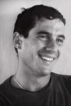 Ayrton Senna...kind smile!!! Such a sweet man