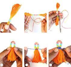 DIY Πολύχρωμες Διακοσμητικές Φούντες | Φτιάξτο μόνος σου - Κατασκευές DIY - Do it yourself