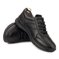 Pantofi Sport din Piele Naturala pentru Barbati All Black Sneakers, Casual, Shoes, Fashion, Moda, Zapatos, Shoes Outlet, La Mode, Fasion