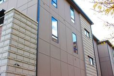 Color matched EasyTrim Reveals aluminum trims with fiber cement panels are another tool in an architect's toolkit to create gorgeous, modern dream homes. #EasyTrimRevealsWhoWeAre