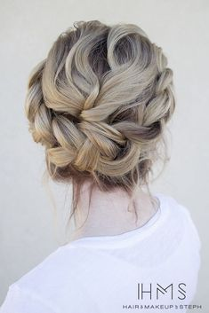 Lovely, loose updo.