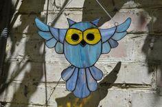 Stained-glass-bird-owl-suncatcher