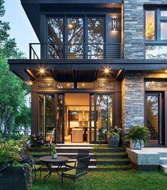 Modern And Stylish Exterior Design Ideas | Dubai city, Villa design ...