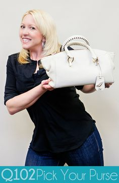 Diane von Furstenburg - Sutra Small Duffle. Go to wkrq.com to find out how to play Q102's Pick Your Purse!