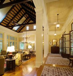West Indies Meets Lowcountry traditional-living-room