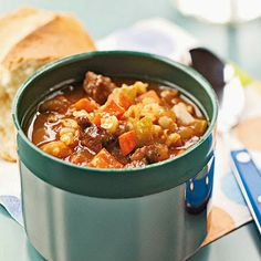RecipeByPhotos: Barley and Beef Soup