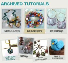 Jewelry tutorials by tez68