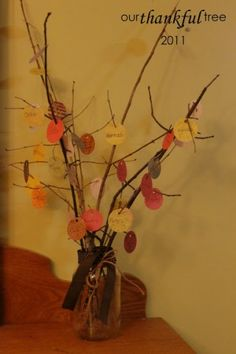 thankful tree @mercyisnew.com ~ one of our favorite FALL traditions!