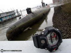 Casio: G-Shock GW-9400-1JR Rangeman photos, videos and specifications GW9400-1JR | Watch Archive