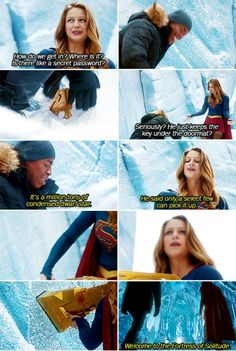 There is one place we can go to find out about aliens. #Supergirl #1x15
