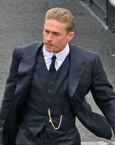 Charlie Hunnam Rocks Dapper Mustache For New Movie 'The Lost World Of Z' |