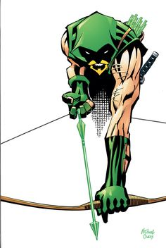 Green Arrow by Scott McDaniel and Andy Owens