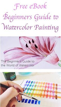 FREE eBook: Beginner's Guide to Watercolor Painting!. Please also visit www.JustForYouPropheticArt.com for colorful-inspirational-Prophetic-Art and stories. Thank you so much! Blessings!