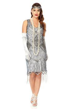 Isobel Blue Grey Vintage 20s inspired Flapper Great Gatsby Charleston Art Deco Downton Abbey Rehearsal Dinner Bridesmaid Wedding Dress New by Gatsbylady on Etsy https://www.etsy.com/listing/221335829/isobel-blue-grey-vintage-20s-inspired