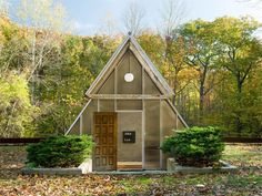 Architect John Lee Black built this 1,980-square-foot residence in 1990 and lived in it for 25 years until he passed away in April 2016. Built into the side of the hill, it's topped off with an A-frame entrance.