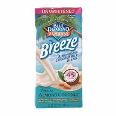 I'm learning all about Blue Diamond Breeze Unsweetened Almond Milk