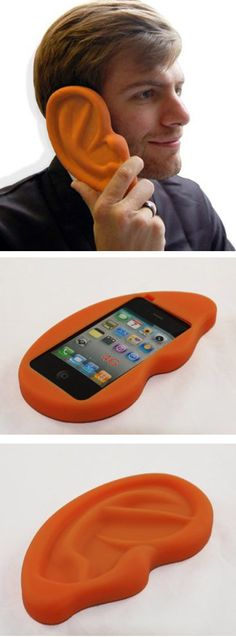 Ear phone case. but kinda scary, though