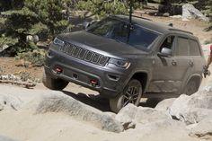 Jeep Grand Cherokee Trailhawk Edition Tackles the Rubicon - Expedition Portal 2017 Grand Cherokee, Grand Cherokee Trailhawk, Rubicon Trail, Jeep Wk, Jeep Garage, Jeep Life, Jeep Stuff, Offroad, 4x4