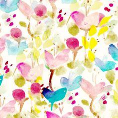 Pretty flower pattern pretty pinterest pretty flowers flower print pattern designer nina zulian mightylinksfo
