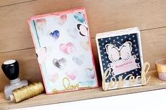 Deko-Boxen selbstgemacht I Handmade decorative boxes made with greyboard, patterned paper and embellishments | mojosanti - pretty paper things | Bloglovin'