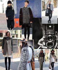 Street chic- new york fashion week