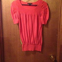 Banana Republic Sweaters - Orange short sleeves sweater. Size XS. $25.