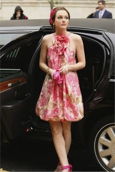 GG S1E18 (Much I Do About Nothing): Blair Waldorf in Collette Dinnigan
