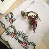 Leron Linens Christmas Garland Guest Towels